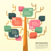 Business Infographic creative design 1262 free