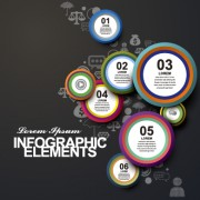 Business Infographic creative design 1250 free