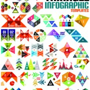 Creative infographic design elements vector 02 free