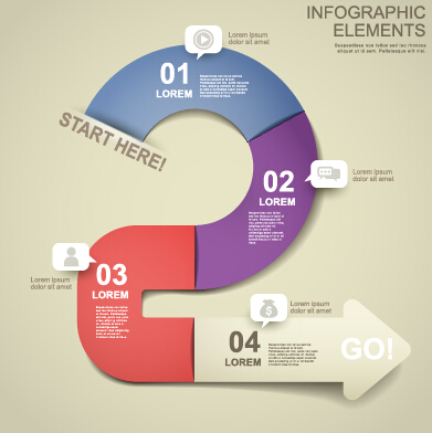 Business Infographic creative design 1447 free