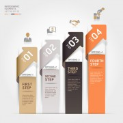 Business Infographic creative design 1370 free