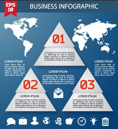 Business Infographic creative design 1079 free