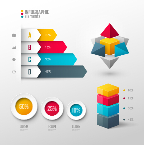 Business Infographic creative design 1478 free