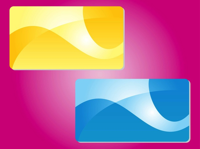Abstract Colorful Cards vector free
