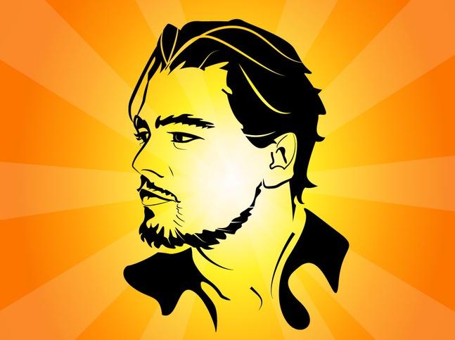 Leonardo DiCaprio Vector free