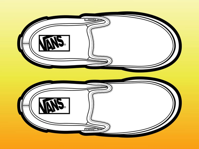 Pair Of Shoes vector free
