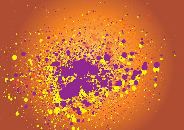 Grunge Explosion Vector free
