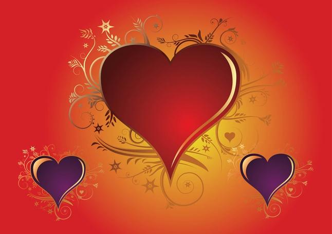 Valentine Heart Vectors free