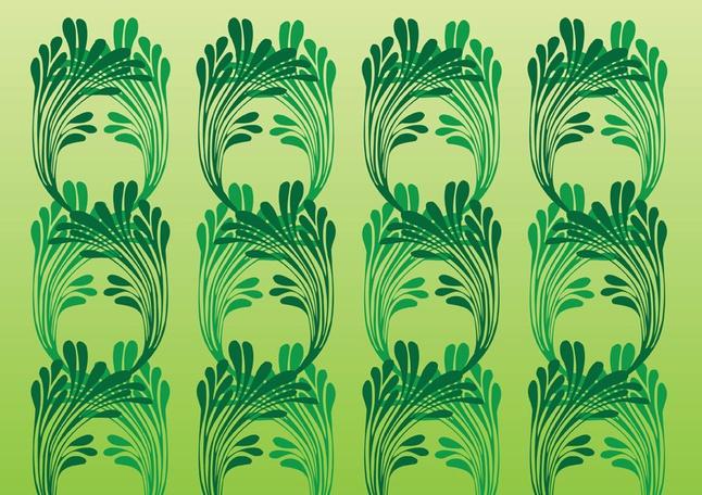 Art Nouveau Vector Pattern free