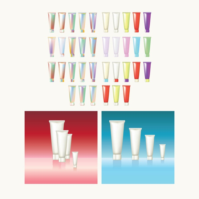 Beauty Products vector free