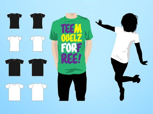 T-Shirts Fashion vector free