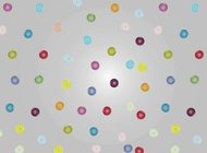 Buttons Pattern vector free