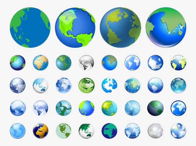 World Vector Icons free