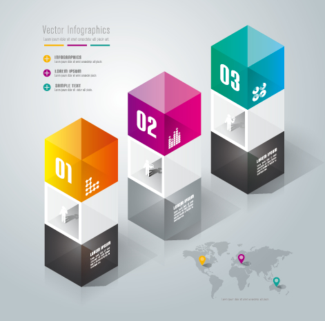 Business Infographic creative design 1139 free