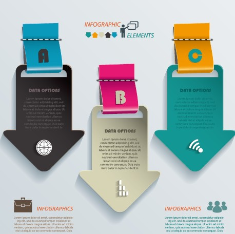 Business Infographic creative design 976 free