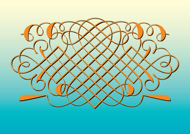 Beautiful Decorative Vector free