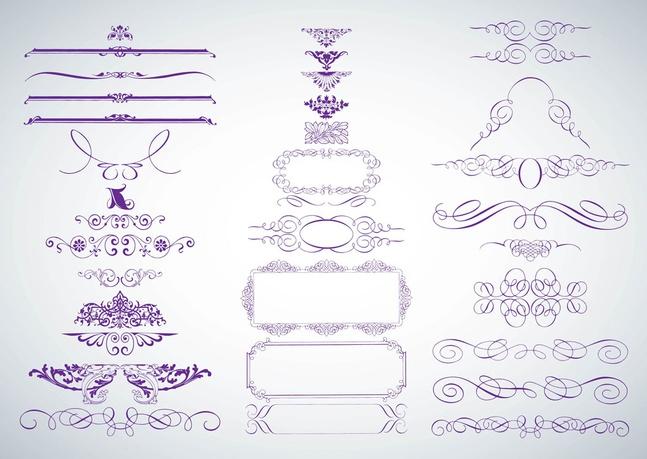 Decorative Vector Graphics free