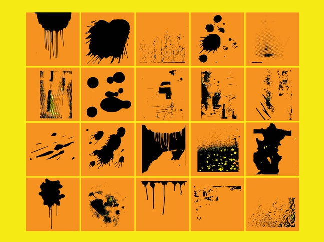 Grunge Vector Brushes free
