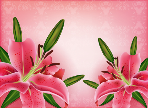 Huge collection of beautiful flower vector graphics 02 free