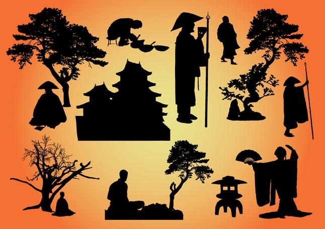 Oriental Vector Graphics free