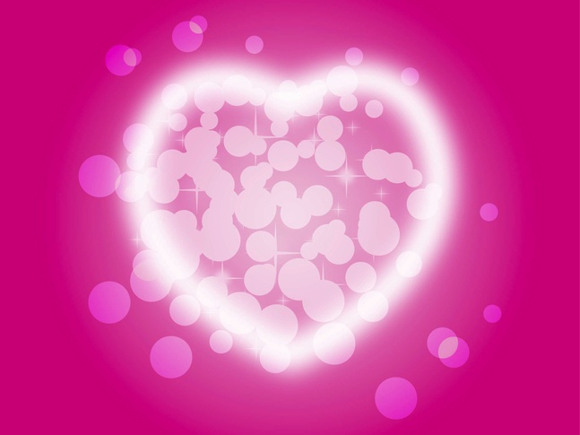 Shiny Heart vector free