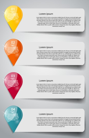 Creative number business banner template 03 free | Free download