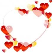 Colored dream heart design vector 02 free