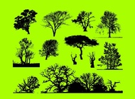 Trees Graphics vector free