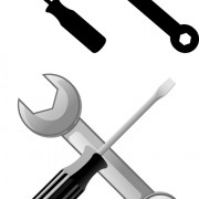 Realistic hardware tools vector graphic set 03 free
