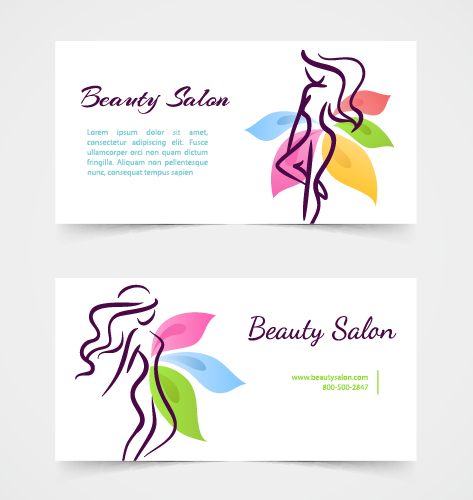 Exquisite beauty salon business cards vector 03 free free download exquisite beauty salon business cards vector 03 free reheart Images
