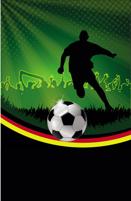 football night posters background vector free free download