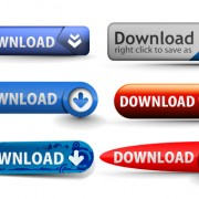 Creative website buttons vectors set 04 free