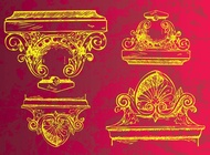 Ancient Decoration vector free
