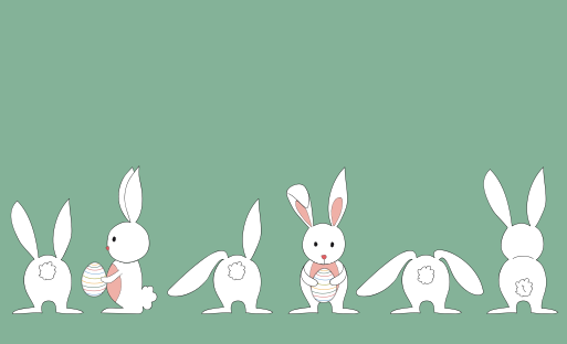 Cute White Rabbit Vector Free Free Download