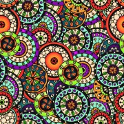 Beautiful ethnic style seamless patterns vector set 04 free
