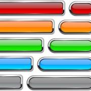 Vector web buttons creative design set 01 free