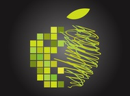 Apple Graphics vector free