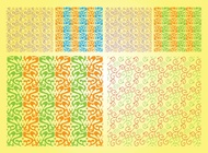 Organic Vector Patterns free