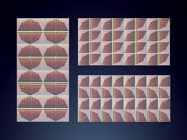 Optical Pattern Pack vector free