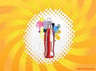 Cool Drink vector free