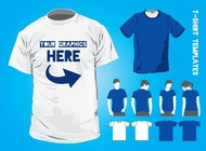 T-Shirt Design Templates vector free