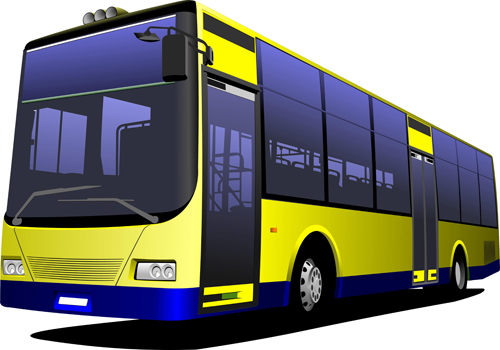 Creative Bus Design Vector 02 For Free Download Free Vector
