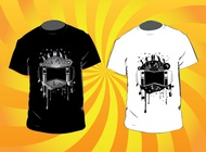 Music T-Shirts vector free