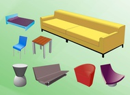 Furniture Designs vector free