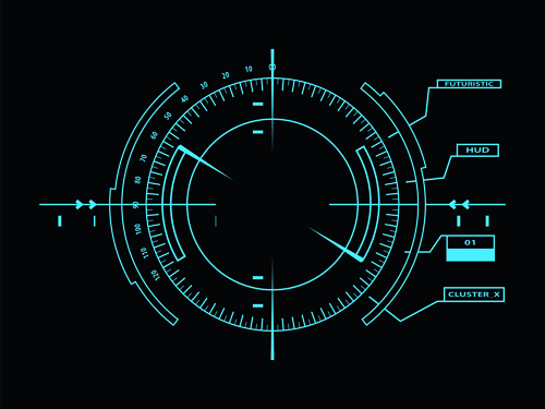futuristic vector background - photo #43
