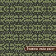 Vintage floral seamless vector pattern 01 free