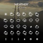 Creative weather app icons free