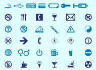 Signs And Icons vector free