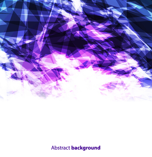 purple and blue geometric shapes background free