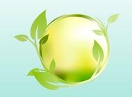 Floral Sphere vector free